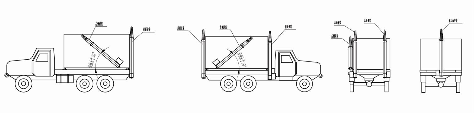Электромеханические мачты DSG - Y car